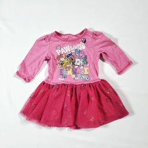 Paw Patrol Pink 2T Tutu Dress